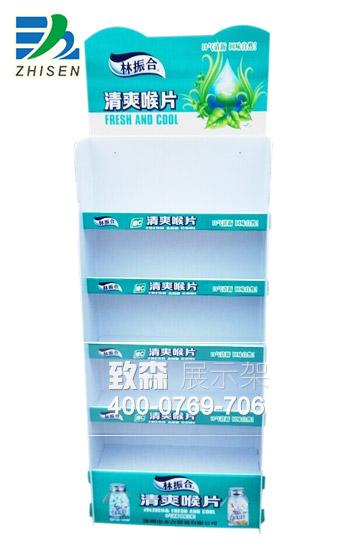 阳江药品展示架|阳江纸货架展架印刷制作工厂